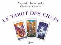 Alexandro Jodorowsky et Christian Gaudin - Coffret Le tarot des chats - Contient : 1 livret de 56 pages, 1 jeu de 22 cartes.