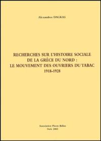 Recherches sur lhistoire sociale de la Grèce du Nord : le mouvement des ouvriers du tabac, 1918-1928.pdf