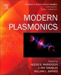 Galabria.be Handbook of Surface Science - Volume 4, Modern Plasmonics Image