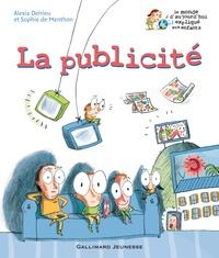 Alexia Delrieu et Sophie de Menthon - La publicité.