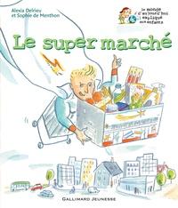 Alexia Delrieu et Sophie de Menthon - Le supermarché.