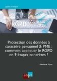 Alexiane Wyns - Protection des données à caractère personnel & PME : comment appliquer le RGPD en 9 étapes concrètes ?.