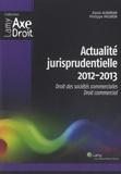 Alexis Albarian et Philippe Mouron - Actualité jurisprudentielle - Droit des sociétés commerciales, droit commercial.