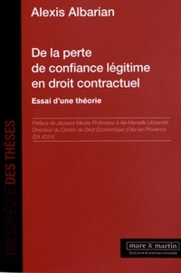 De la perte de confiance légitime en droit contractuel - Essai dune théorie.pdf