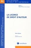 Alexis Boisson - La licence de droit d'auteur.