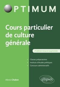 Alexis Chabot - Cours particulier de culture générale.