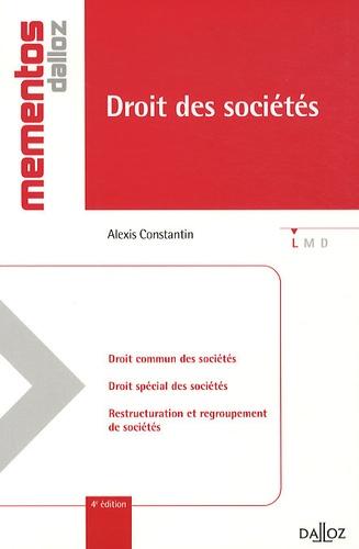 Droit des sociétés 4e édition