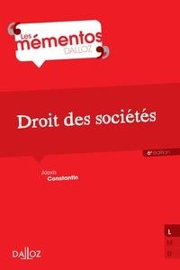 Alexis Constantin - Droit des sociétés.