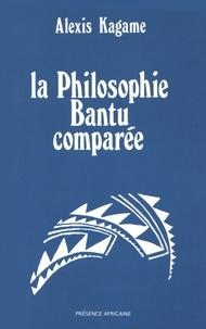 Alexis Kagame - La philosophie bantu comparée.