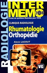 Alexis Lacout - Rhumatologie Orthopédie - Clinique-radiologie.