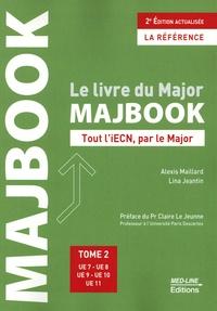 Alexis Maillard et Lina Jeantin - Le livre du Major MAJBOOK - Tout l'iECN, par le Major. Tome 2, UE 7 - UE 8 - UE 9 - UE 10 - UE 11.