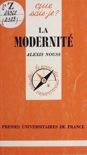 Alexis Nouss et Paul Angoulvent - La modernité.