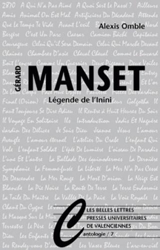 Alexis Omble - Légende de l'Inini - L'univers Manset.