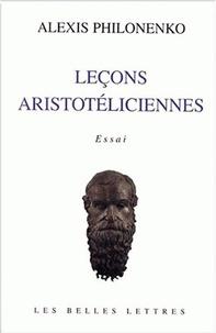 Accentsonline.fr Leçons aristotéliciennes Image