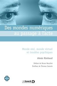 Alexis Rimbaud - Des mondes numériques au passage à l'acte - Monde réel monde virtuel et troubles psychiques.