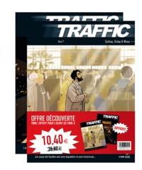 Alexis Robin et Malo Kerfriden - Traffic  : Pack 2 volumes - Tome 1, Contre la montre ; Tome 3, Quai n° 7.