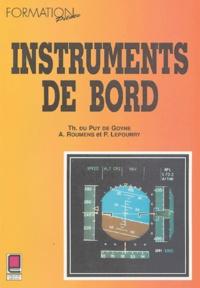 Alexis Roumens et Thierry Du Puy de Goyne - Instruments de bord.