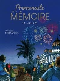 Alexis Sentenac et Edmond Baudoin - Promenade de la mémoire - 14 juillet.