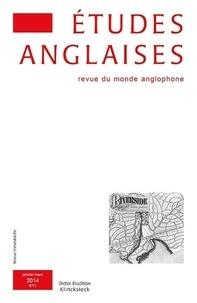 Alexis Tadié - Études anglaises - N°1/2014.