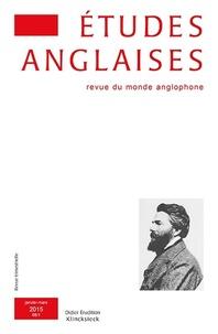 Alexis Tadié - Études anglaises - N°1/2015.