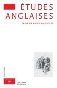 Alexis Tadié - Études anglaises - N°3/2015.