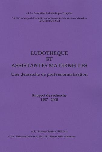 ALF - Ludothèque et assistantes maternelles - Une démarche de professionnalisation.