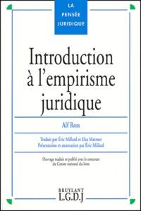 Alf Ross - Introduction à l'empirisme juridique - Textes théoriques.