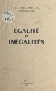Alfred Ancel - Égalité et inégalités.