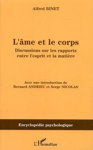 LAme et le Corps - Discussions sur les rapports entre lesprit et la matière.pdf