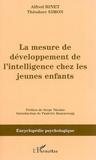Alfred Binet - La mesure du développement de l'intelligence chez les jeunes enfants.