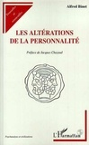 Alfred Binet - Les altérations de la personnalité.