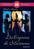Alfred de Musset et Marie-Henriette Bru - Bibliolycée - Les Caprices de Marianne, Alfred de Musset.