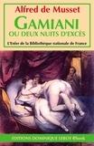 Alfred de Musset et Achille Devéria - Gamiani - ou Deux Nuits d'excès.