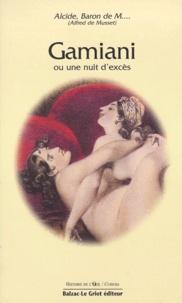 Alfred de Musset - Gamiani - Ou Une nuit d'excès.