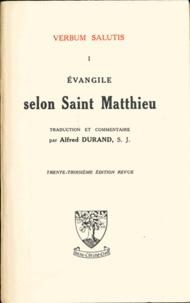 Alfred Durand - Evangile selon Saint Matthieu.