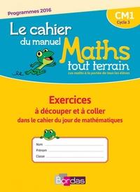 Alfred Errera - Mathématiques CM1 Le chahier du manuel Maths Tout Terrain - Exercices à découper et à coller dans le cahier du jour de mathématiques - Pack en 5 volumes.