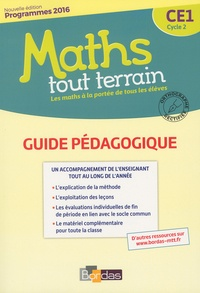 Alfred Errera - Maths tout terrain CE1 - Guide pédagogique.