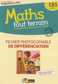 Alfred Errera et Jacques Brun - Maths tout terrain CE1 - Fichier photocopiable de différenciation.