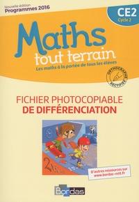 Alfred Errera - Maths tout terrain CE2 - Fichier photocopiable de différenciation.