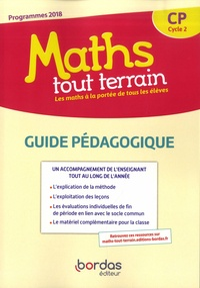 Alfred Errera et Xavier Amouyal - Maths tout terrain CP Cycle 2 - Guide pédagogique.