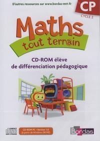 Alfred Errera - Maths tout terrain CP - CD-ROM élève de différenciation pédagogique. 1 Cédérom