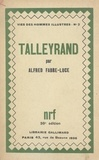 Alfred Fabre-Luce - Talleyrand.