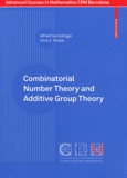 Alfred Geroldinger et Imre Z. Ruzsa - Combinatorial Number Theory and Additive Group Theory.