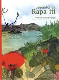 Alfred Make et Christian Ghasarian - Légendes de Rapa - Edition bilingue français-polynésien.