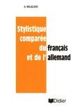 Alfred Malblanc - Stylistique comparée du français et de l'allemand.