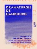 Alfred Mézières et Edouard de Suckau - Dramaturgie de Hambourg.