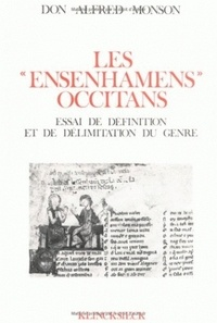 Alfred Monson - Les ensenhamens occitans - Essai de définition et de délimitation du genre.