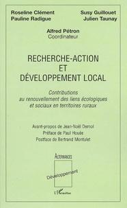 Alfred Pétron - Recherche-action et développement local - Contributions au renouvellement des liens écologiques et sociaux en territoires ruraux.