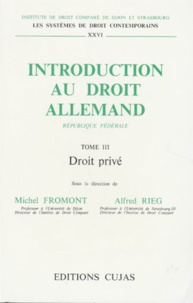 Alfred Rieg et  Collectif - .