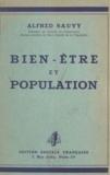 Alfred Sauvy - Bien-être et population.